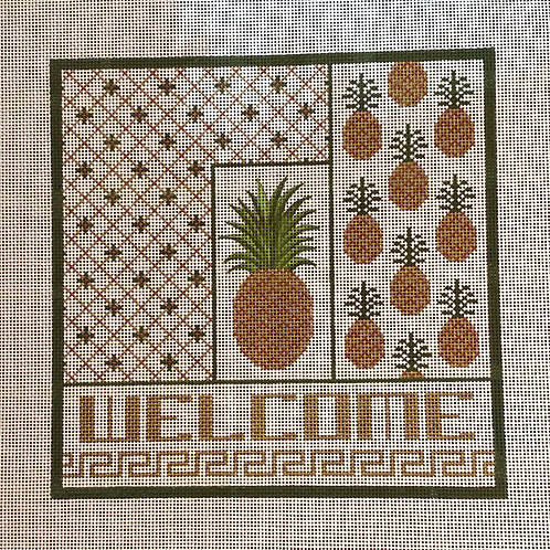 Welcome w/ Pineapples