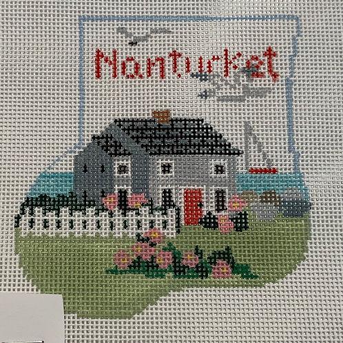 Nantucket mini stocking