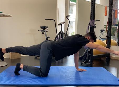 Οι  3 ασφαλέστερες ασκήσεις για τη μέση ! No.1 Bird-Dog ! (Video)