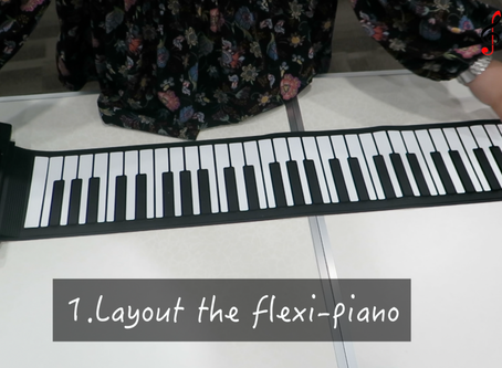 12 steps on how TravelClef conducts high quality checks on their flexi-pianos