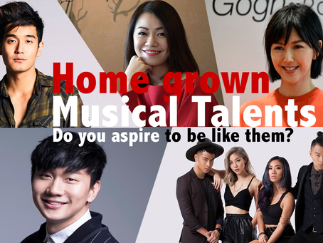 Home Grown Musical Talents. Do you aspire to be like them?