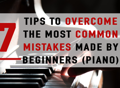 7 Tips To Overcome The Most Common Mistakes Made By Beginners