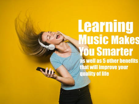Does learning music makes you smarter? Here are 6 benefits that could improve your quality of life t