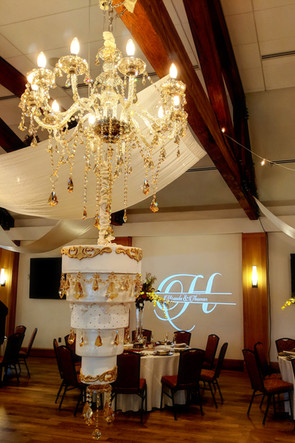 Highlands Ranch M | Chandeliers | Draping | Monogram