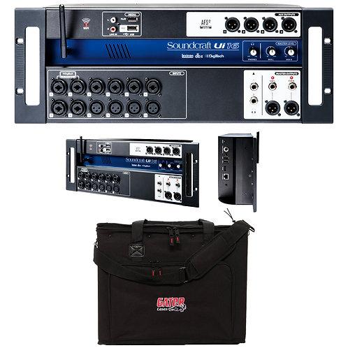 Soundcraft Ui16 | 16 Channel Rack-Mount Audio Mixer