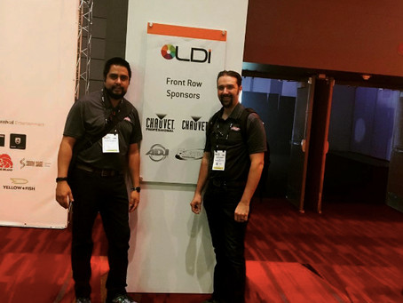RSR at the Live Design International (LDI) conference in Las Vegas, NV.