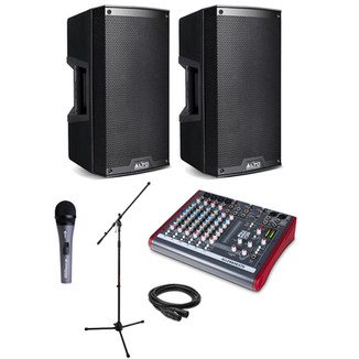Small audio system package.