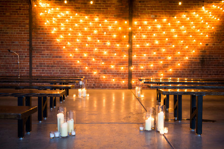 Market Lights | Wedding Backdrop