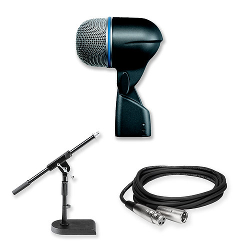 Shure Beta 52 A Kick Drum Mic Kit