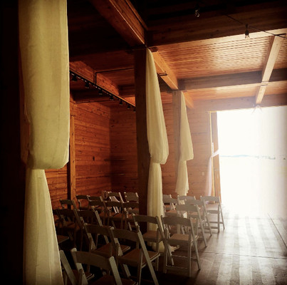 Flying Horse Ranch | Hanging Drapes | Rockstar Rentals