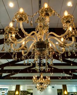 Highlands Ranch Mansion | Chandeliers | Market Lights