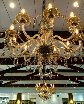 Highlands Ranch Mansion | Chandeliers | Market Lights