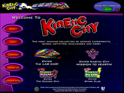 Kinetic City, science adventure for kids