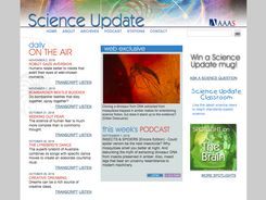 Science Update radio and podcast