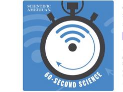 Scientific American 60-Second Science podcast