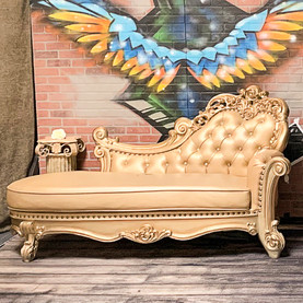 Gold Chaise