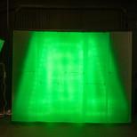 Green LED Light Wall