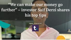 """We can make our money go further"" – Saif Derzi"