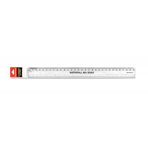 Nataraj 621 scale 30cm clear ruler