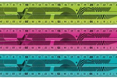 Maped 30cm twist n flex, the original blue and green