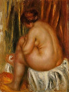 afterbathingnudestudy, pierre auguste re