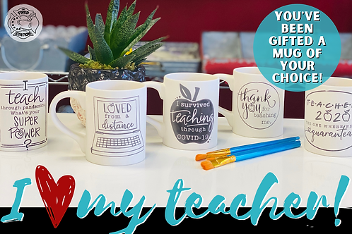 Gift Certificate for your teacher!