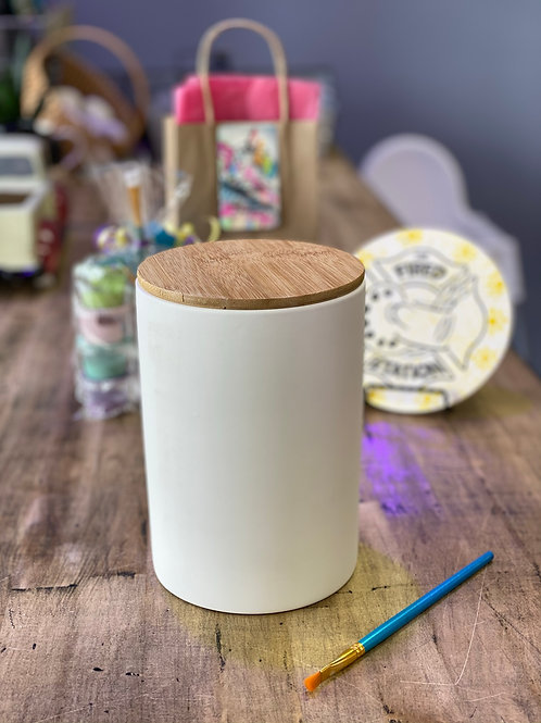 cannister w/bamboo lid
