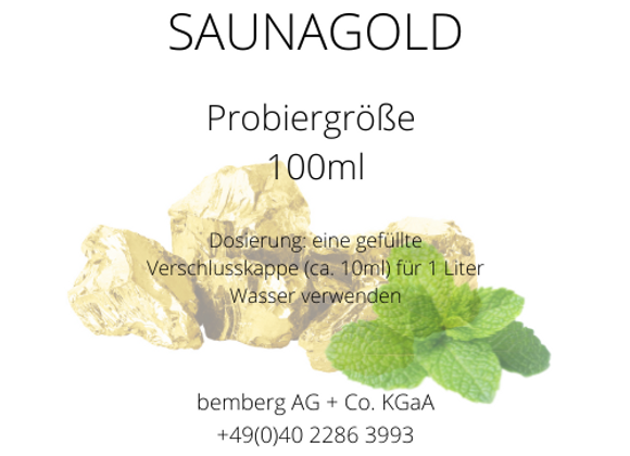 Saunaduft-Konzentrat 100ml Saunagold