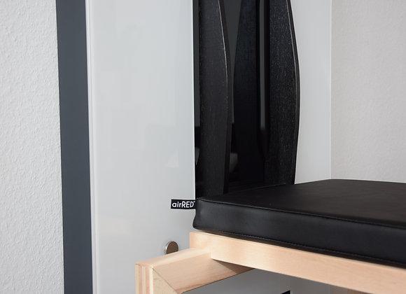 airRED Sitzkissen schwarz