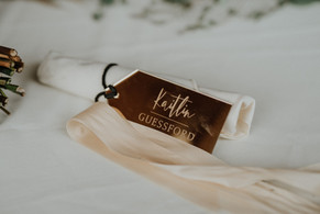 Mirrored Placecards