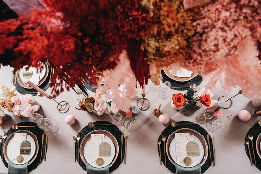 Mirrored Arch Placecards
