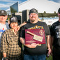 Willow Villarreal and his cooking team -