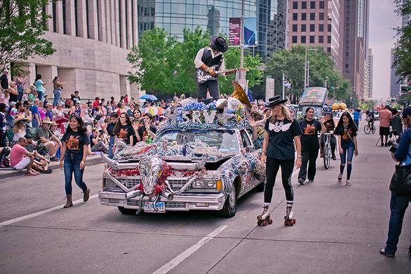 Art Car - 1st Place - Pride and Joy, A T