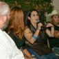 Alba Huerta speaking on panel about Disa