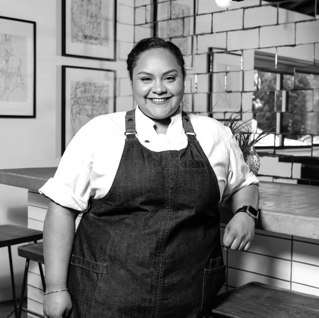 Chef Evelyn Garcia - photo by Trish Badg