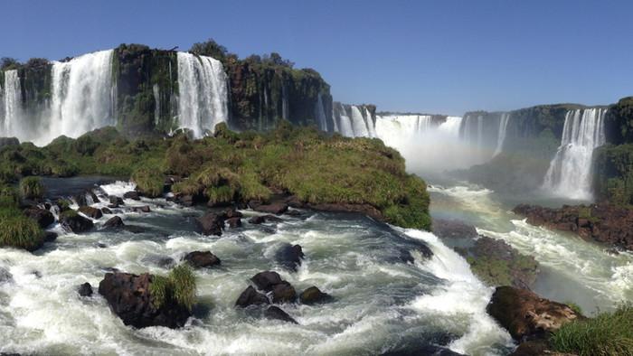 Les Chutes d'Iguaçu, une des nouvelles merveilles du Monde ! (côté brésilien)