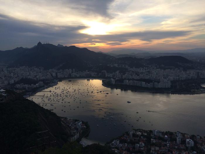 Retour à Rio, match de foot, Pain de Sucre et Corcovado