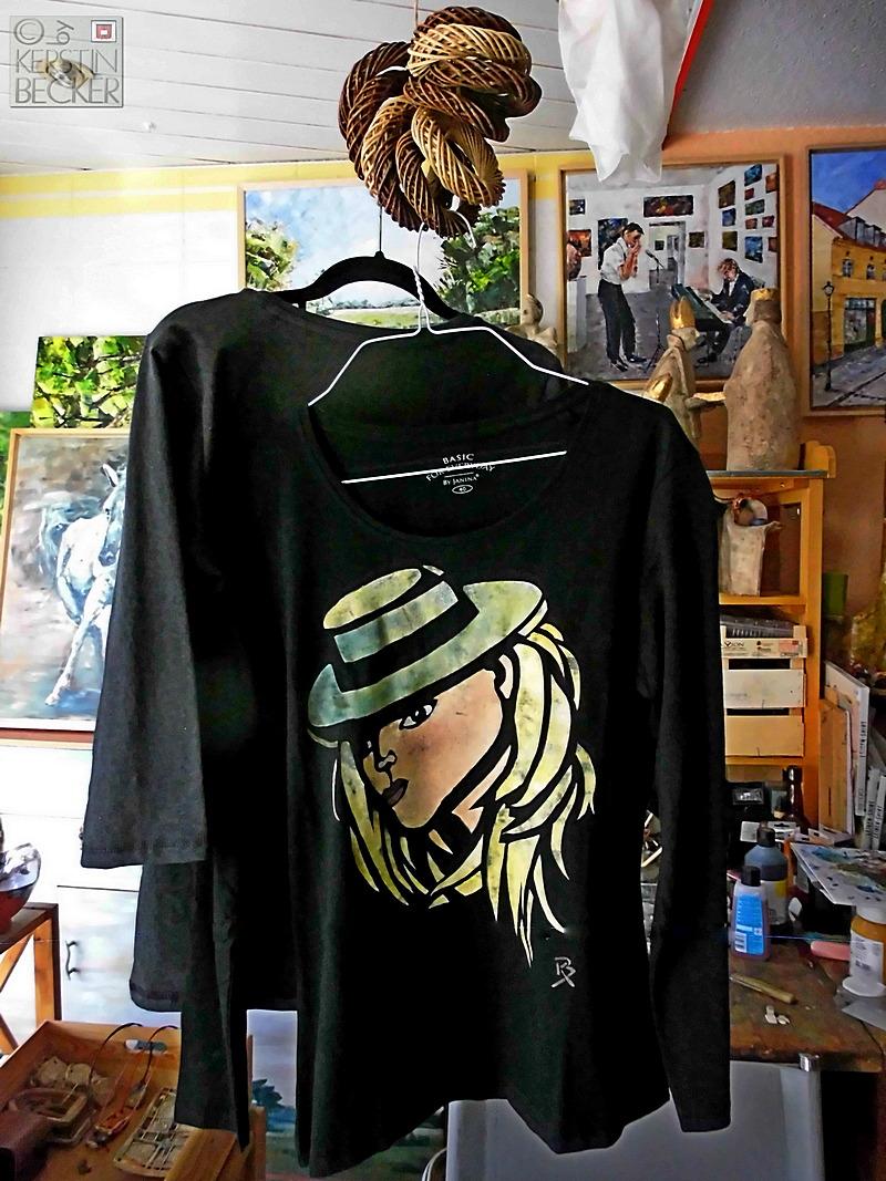 Kunst auf Shirts, Unikate
