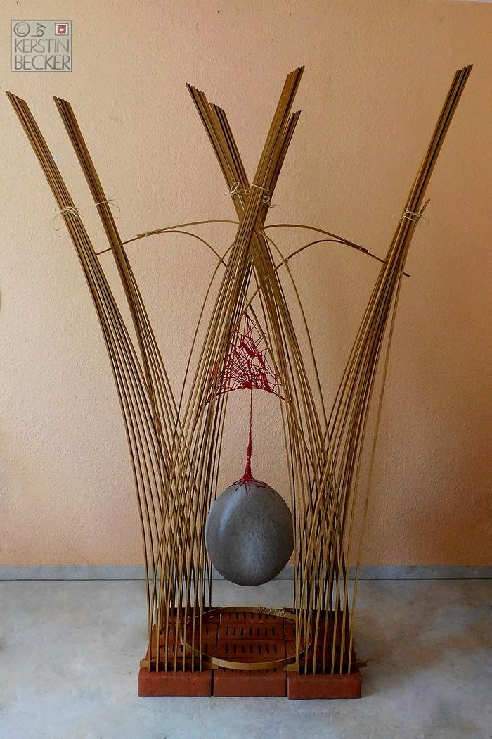 Concon, Bambus, Papiermachee, Textil