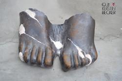 restauration der Füße