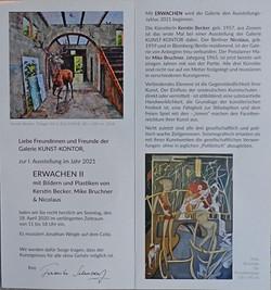 Vernissage ERWACHEN  Galerie KUNST- KONT