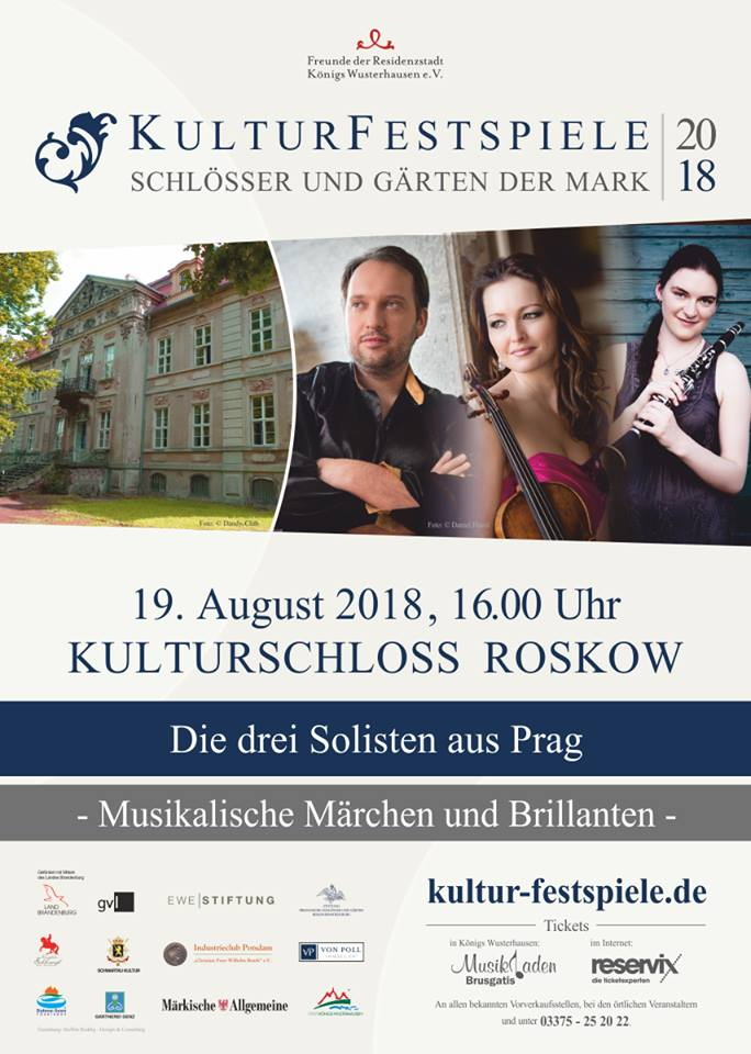Konzert und Vernissage im Kulturschloss