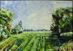 April, Durchblick, 50 x 70 cm