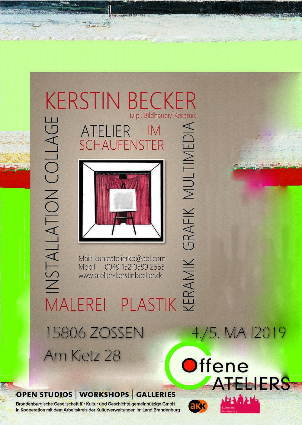 Tag des Offenen Ateliers 2019_Plakat Ate
