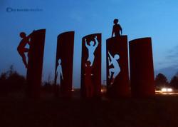 Mauerdenkmal Berlin B96, K. Becker