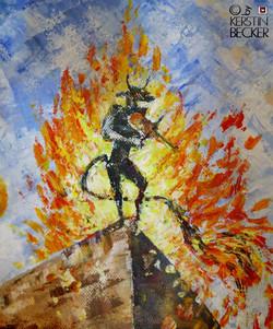 Der Teufel, Detail aus DIE ARCHE