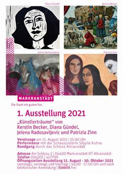 Ausstellung im Schloss Altranstädt