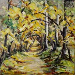 Herbstlicht 50x50 cm