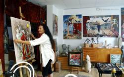 Im Atelier August 15