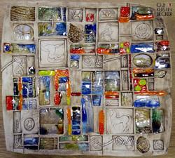Keramikteller, Unikat 2015, 35x40 cm, KB web